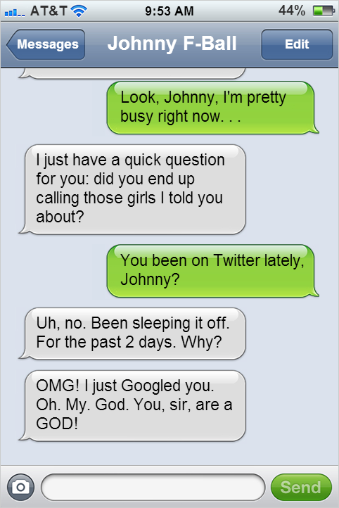 Johnny F
